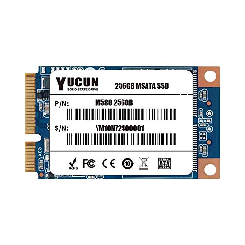 YUCUN MSATA III Disco Duro sólido Interno de Estado sólido 256GB SSD