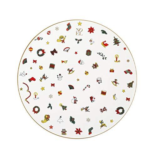 Taitu Noël ORO - Teller flach 21,5 cm
