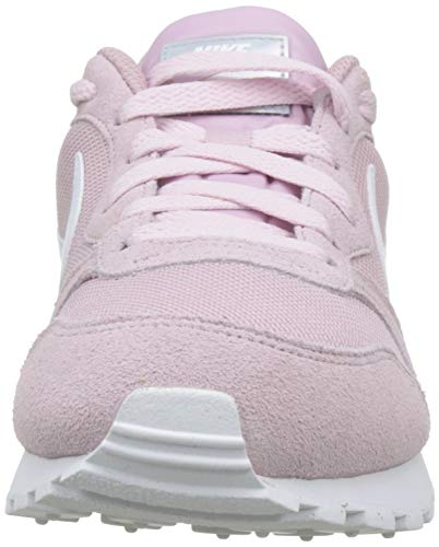 Nike MD Runner 2, Zapatillas de Running Mujer, Multicolor (Plum Chalk/White 500), 37.5 EU