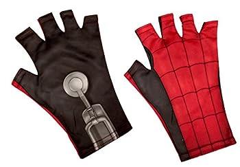 Rubie s Spider-Man Homemade Suit Child Fingerless Gloves