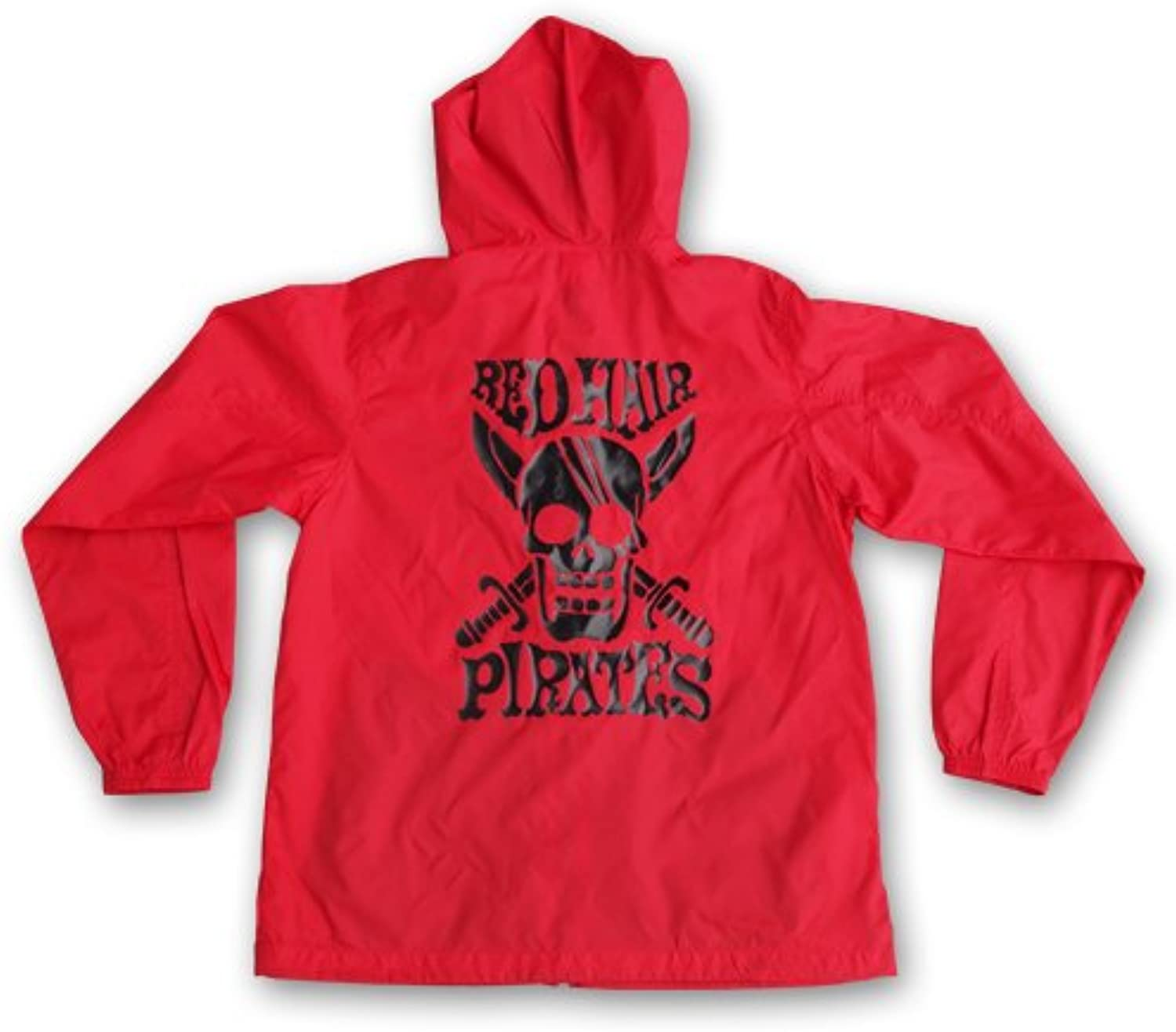 One Piece Red Hair Pirates Windbreaker Red x navy Size  S (japan import)