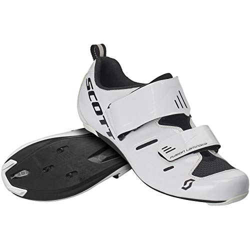 Scott Road Tri Pro Triathlon Fahrrad Schuhe weiß/schwarz 2021: Größe: 42