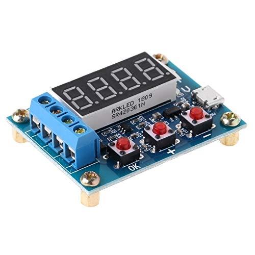 RUNNA ZB2L3 Batterie-Kapazität Tester 1.2-12V 18650 Li-Ionen-Lithium-Blei-Säure-Batterie-Kapazität Meter Entladung Tester Analyzer Dauerhaft