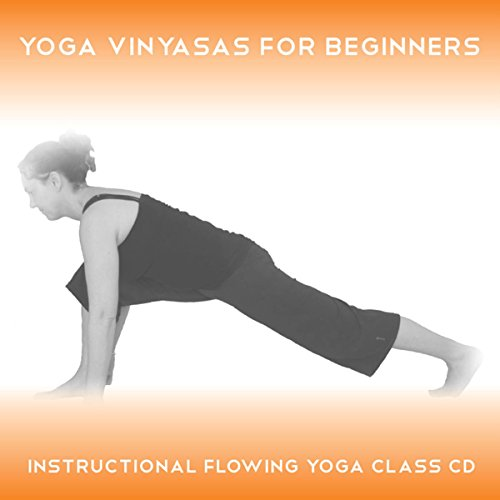 Yoga Vinyasas for Beginners audiobook cover art