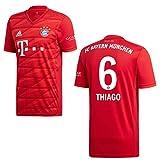 adidas Bayern Trikot Home Kinder 2020 - Thiago 6, Größe:164