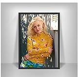 Hanyyj Poster Zara Larsson Musiksängerin Star Wandkunst