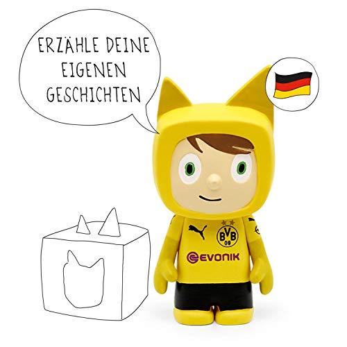tonies Hörfiguren für die Toniebox - BVB Kreativ Borussia Dortmund Fans - ca. 90 Minuten Speicher für Deine Musik, Geschichten, Hörbücher und Eigene Audiodateien - DEUTSCH