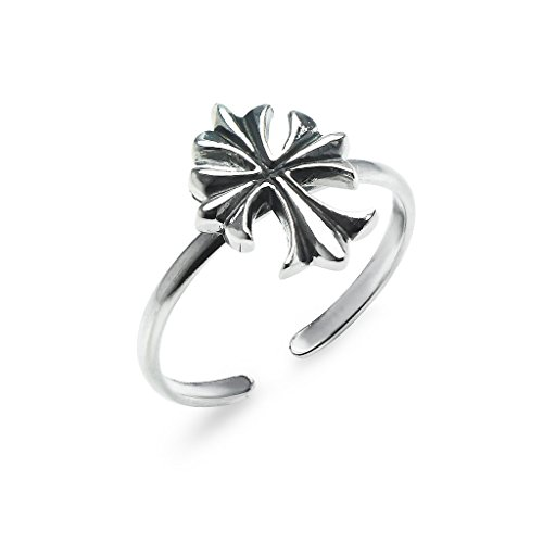 Sterling Silver Toe Ring Celtic Cross Jewelry For Women