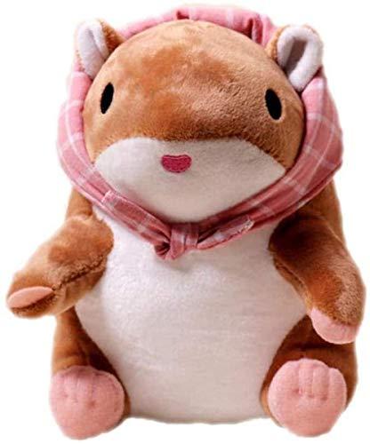INGFBDS 20Cm Reallife Mouse Gefüllte Hamster Plüsch Puppe Triver Spielzeug Baby Kinder Kinder Geburtstagsgeschenk Home Decor Reise Frosch Spiel