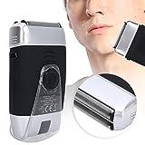 Bartknipser, Komfortabler Elektrorasierer, Wiederaufladbar Leise für Bart Männer