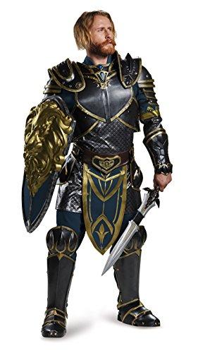 Disguise Men's Warcraft Lothar Prestige Costume, Multi, X-Large
