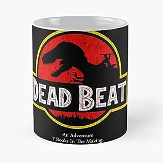 Harry Dresden Dead Beat Jurassic Park C Handcrafted Novelty 110z Gift Coffee Mugs