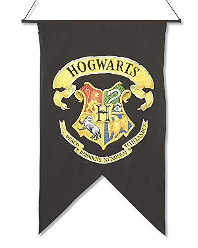 Rubie's 9719 Hogwarts Printed Wall Banner Harry Potter Kostümzubehör, Mehrfarbig, Standard