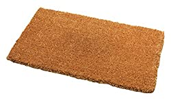 """Highly absorbent barrier to help protect & fend off dirt entering your home Designed for both indoor and outdoor use, made to last a long time 100% Natural Coir bristles For Classic and traditional style Size: 75 x 45 cm (29 1/2"""" x 17 3/4"""")"""