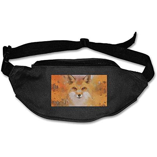 Riñonera Riñonera Fox Face Pouch Running Cinturón Bolsillo De Viaje Deportes Al Aire Libre