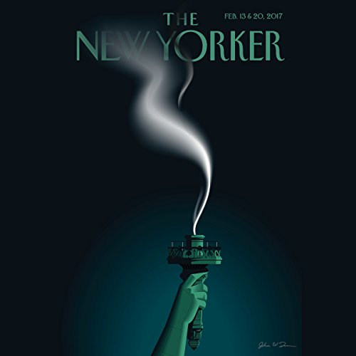 The New Yorker, February 13 & 20: Part One (Adam Gopnik, Patrick Radden Keefe, Joyce Carol Oates) cover art