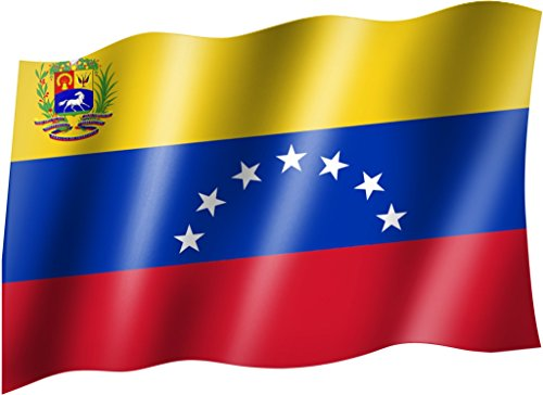 Flagge/Fahne VENEZUELA Staatsflagge/Landesflagge/Hissflagge mit Ösen 150x90 cm, sehr gute Qualität