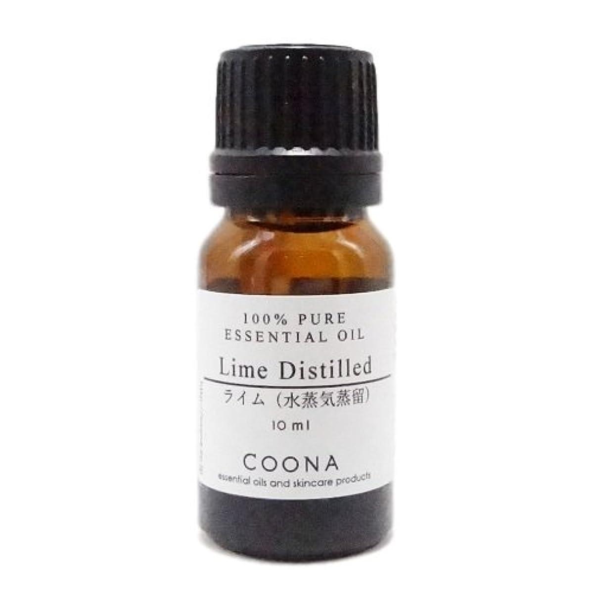 生きているブッシュ幻想的ライム 水蒸気蒸留 10 ml (COONA エッセンシャルオイル アロマオイル 100%天然植物精油)