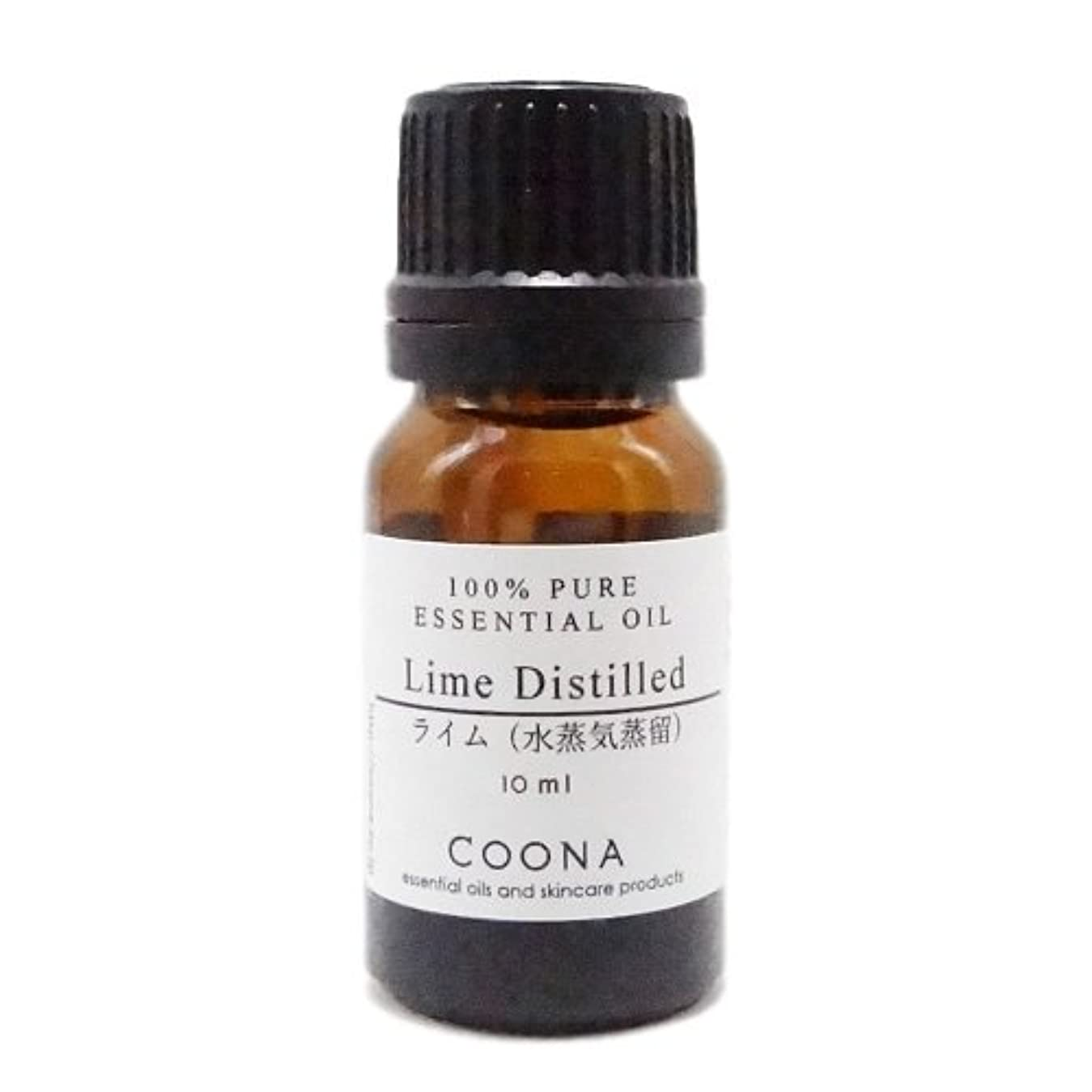 連邦レイプ笑ライム 水蒸気蒸留 10 ml (COONA エッセンシャルオイル アロマオイル 100%天然植物精油)