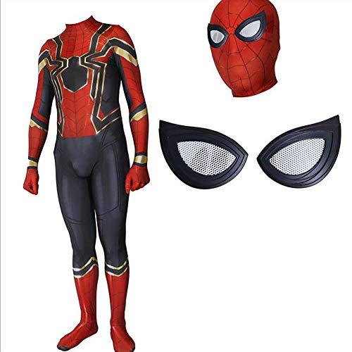 Muswanna87 - Disfraz de Spiderman para Adulto con Lentes de ...