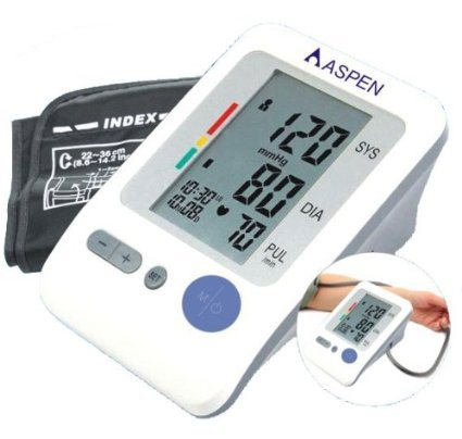 EastShore Upper Arm Digital Blood Pressure Monitor with Extra Large Cuff (Designed for Big People) 120 Memory,Irregular Heart Beat Detector, Jumbo LCD