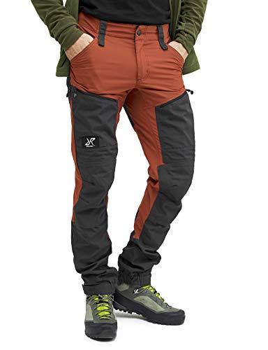 RevolutionRace Herren GPX Pro Pants, Hose zum Wandern und für viele Outdoor-Aktivitäten, Rusty Orange, XS
