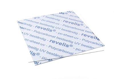 revelis® | Spuckschutz | Niesschutz | Thekenaufsatz | Polycarbonatplatte | schlagfest | bruchfest | transparent | in verschiedenen Größen und Stärken zur Auswahl