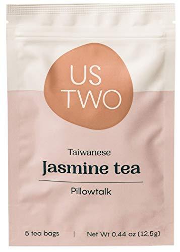 Taiwanese Jasmine Tea (Pillowtalk ) 5 Tea Sachets (1 tea sachet = 3 servings) - Us Two Tea