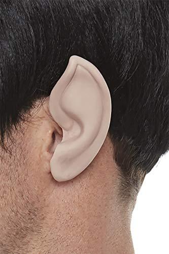 Smiffys Officially Licensed Star Trek, Original Series Spock Ears Orejas color carne, talla nica (52343)