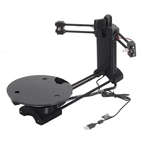 Meijin Black DIY 3D Drucker Scanner Scanner Scanner Adapterplatte für 3D-Drucker CICLOP