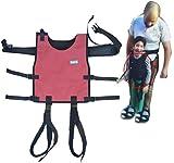 XYLUCKY Cintura Di Trasferimento Gilet Fisso Con Cosciali - Assistenza Infermieristica Medica A044 Dispositivo Di Ausilio Per La Sicurezza - Terapia Fisica E Occupazionale Dei Bambini
