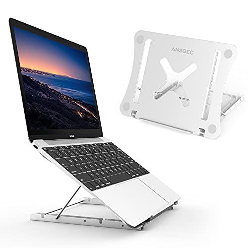 Laptop Stand, ANSGEC Foldable Portable Laptop Stand Desk, 12-Levels...