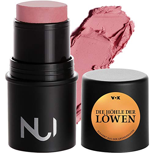 NUI Cosmetics Natural Cream Blush PITITI - Naturkosmetik vegan natürlich glutenfrei - pflegendes Rouge in einem matten Rosé Farbton für Wangen, Augen und Lippen