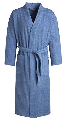 Egeria TOPAS Unisex Bademantel in Kimonoform für Damen und Herren, Größe M, Farbe Regatta