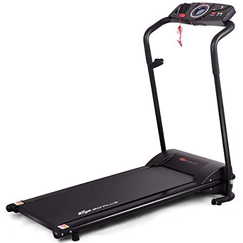 top rated Household Goplus compact folding treadmill, electric treadmill, low noise, built-in … 2020