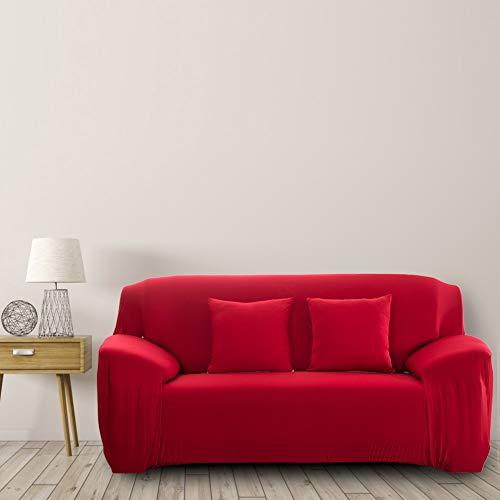 Protector de muebles Funda de sofá Sofá elástico Decoración de oficina o hotel(Double seat'145-185cm')