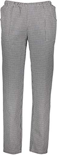 Siry Work Kochhose Unisex Art. Pan Max Salz und PEPE 100% Baumwolle Made in Italy, Mehrfarbig M