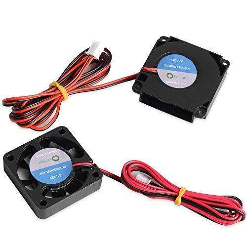 Furiga 12 V 4010 Ventilatore 40 x 40 x 10 MM Ventola di Raffreddamento e Circolo Fan Stampante 3D Parti per CR10 CR10S Accessorio