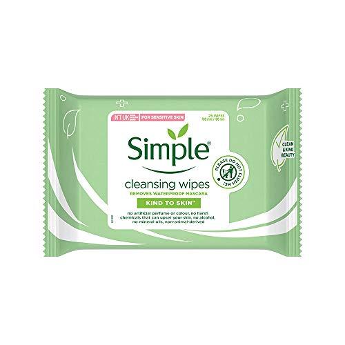 Simple Paquet de 25 lingettes nettoyantes - lot de 6