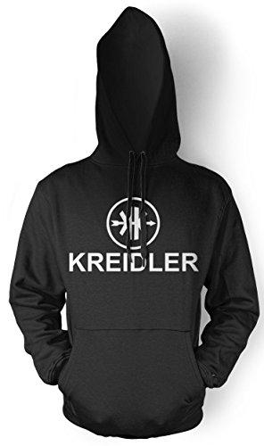 Uglyshirt87 Kreidler Logo mannen en heren capuchonpullover | Moped bromfiets Oldschool cadeau