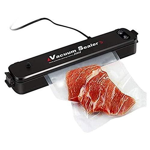 Selladores de bolsas profesional Vacuum Sealer Máquina de sellador de vacío de alimentos de sellado de un toque de sellado de alimentos para uso de sellador de conservación fresco para uso domicomerci