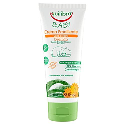 Equilibra Baby Crema Protettiva Viso-Corpo, 100 ml