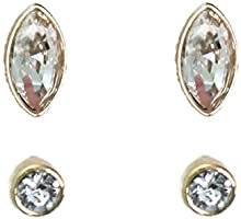 Swarovski Women Gold Plated Earring - 5188424