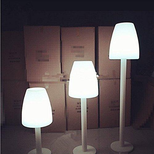 Gowe Piantana Ali Baba étanche à changement de couleur Intérieur/extérieur LED lumineuse Lampes de sol pour jardin cour Barre de décoration d'éclairage