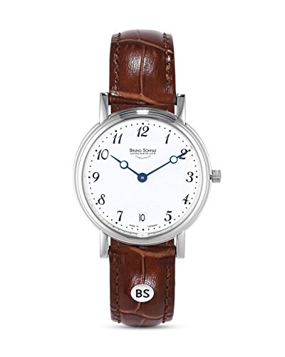 Bruno Söhnle Damen Analog Quarz Uhr mit Leder Armband 17-13110-920