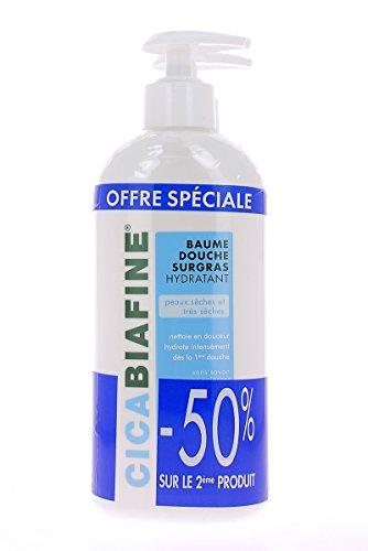 Preisvergleich Produktbild CicaBiafine Moisturizing Shower Balm 2 x 400ml