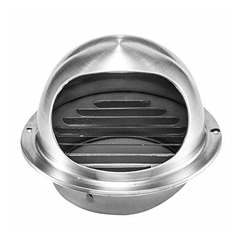 SZBLYY Rejilla ventilacion Ventilación de Aire de Acero Inoxidable Ventilación de Aire Redondo Ventilación de Aire de ventilación Ventilación Impermeable Impermeable Rejilla de Escape Cubierta Outlet