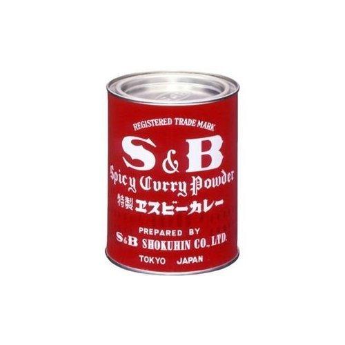 カレー粉 赤缶 400g /S&B(6缶)