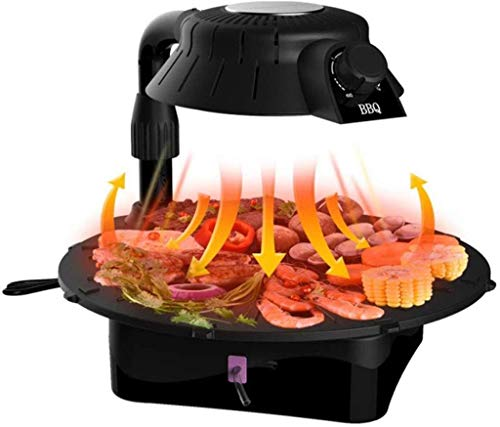 Teppanyaki Grill eléctrico Tabla, 42 * los 37CM antiadherente plancha con temperatura...