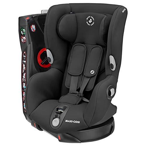 Maxi-Cosi Axiss, Siège Auto Pivotant Groupe 1 , Inclinable, de 9 mois à 4 ans, de 9 à 18 kg, Authentic Black (noir)